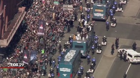 Eagles fans flock for Super Bowl celebrations