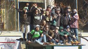 Philadelphia celebrates Super Bowl win with emotional rally, parade
