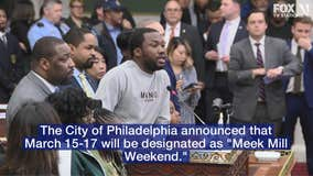 "Philadelphia City Council honors Meek Mill, designates ""Meek Mill Weekend"""