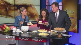 Celebrity chef Cat Cora shares her apple pie recipe