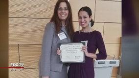 Mother graduates from Temple University alongside daughter after cancer battle