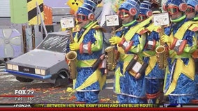 The Mummers Parade is on despite bitter cold