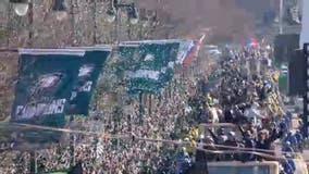 Eagles Parade of Champions highlight reel