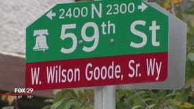Philadelphia names street after former mayor W. Wilson Goode Sr.