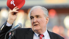 Phillies commemorate Chairman David Montgomery at Citizens Bank Park memorial