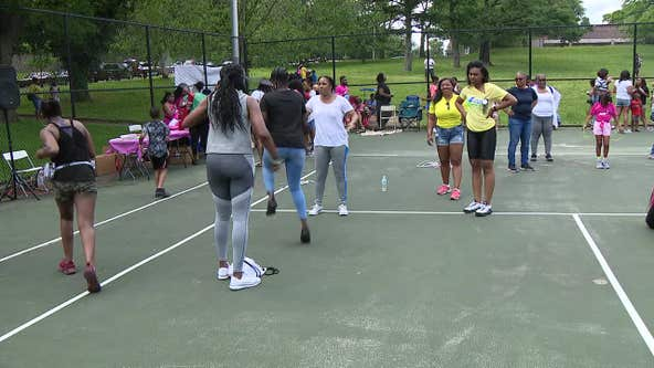 Double Dutch Jump Off from Philly Girls Jump