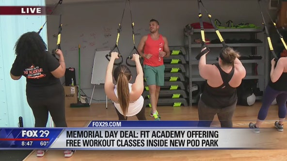 Fit Academy offering free classes at Northern Liberties pod park