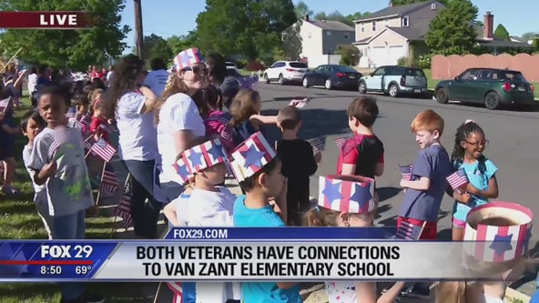 Marlton community welcomes home veterans with big surprise