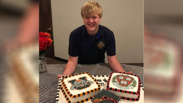 Student, 17, graduates from high school and Harvard at the same time