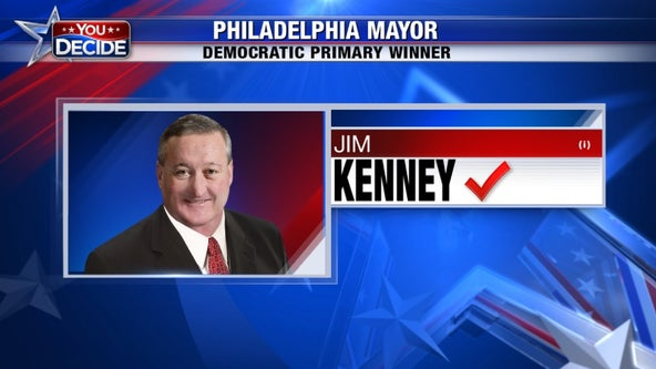 Philadelphia mayor Jim Kenney fends off 2 in primary
