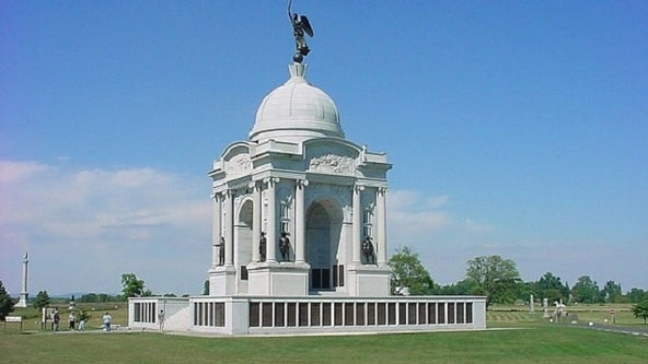 Boy, 13, falls from observation level on Gettysburg monument