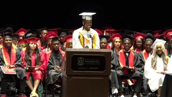 High school valedictorian earns more than $3M in scholarships amid homelessness, loss of father