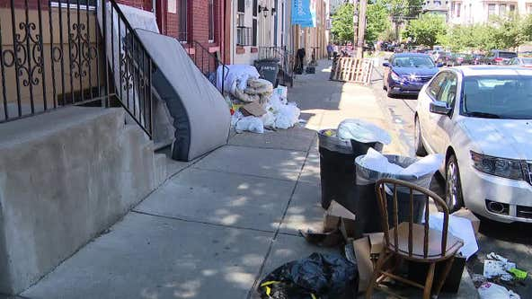 College students leave behind mess when moving out for summer