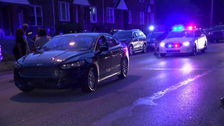 A one-year-old struck by a vehicle in East Germantown.
