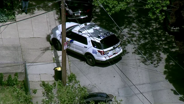 Police investigate man shot on Herbert Street.