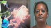 Woman allegedly caught on her own surveillance camera setting neighbor's home on fire