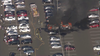 Multiple car fire at Franklin Mills Mall parking lot