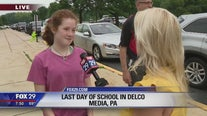 Students in Delaware County get ready to start summer vacation