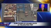 Former U.S. Attorney Fred Tecce discuss massive cocaine seizure at Philadelphia port