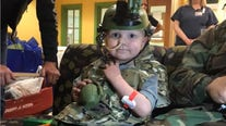 Family asks military members to attend funeral of 5-year-old 'Army man' who died of cancer