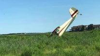 Small plane overshoots runway, goes into Ocean City marsh