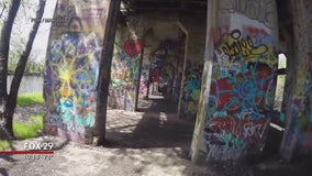 What happens when Graffiti Pier becomes a public park?