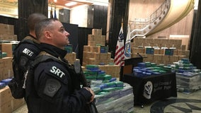 Six charged, 17.5 tons of cocaine seized in historic drug bust at Philadelphia port