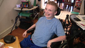 Wheelchair ramps stolen from South Philadelphia teen with cerebral palsy