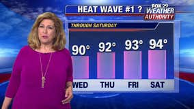 Weather Authority: Temps reach 90, marking first heat wave of 2019