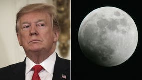 Trump seems to say moon is part of Mars in confusing tweet criticizing NASA's plan for another visit