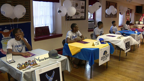 Philadelphia Alumni Chapter of Kappa Alpha Psi Fraternity holds college signing day for students
