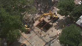 Sinkhole repair disrupts traffic in University City