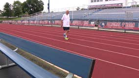 80-year-old Delaware County man aims to walk over 11,500 miles