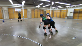 Vacant store turns into roller derby track in Phillipsburg, NJ