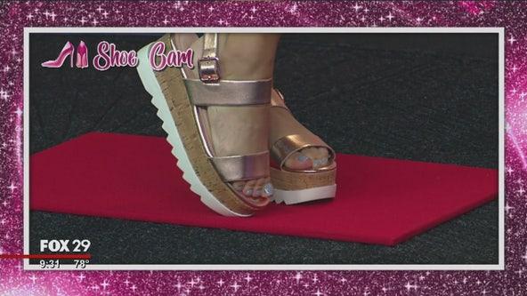 Kristin Detterline shows off some summer footwear styles