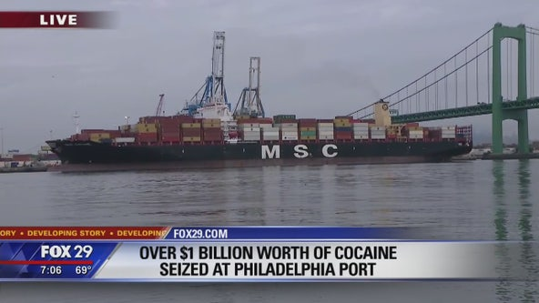 Breaking down the bust: 16.5 tons of coke seized at Philly port