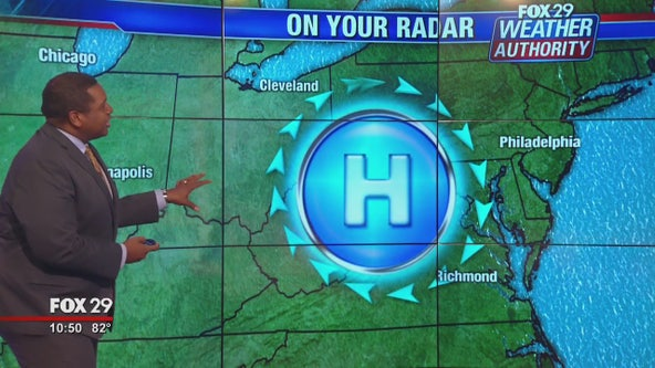 FOX 29' Weather Authority: 7-Day Forecast (Tuesday update)