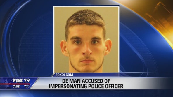 Delaware man accused of impersonating police officer