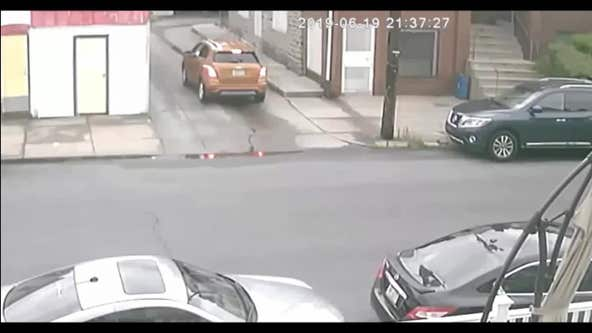 Police search for suspect who set off explosive device in Olney