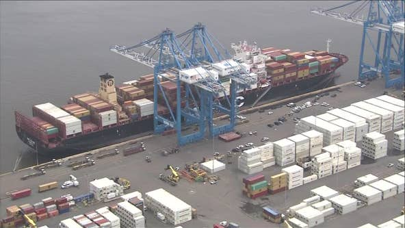 Authorities: 16.5 tons of cocaine seized at Philly port has street value over $1 billion