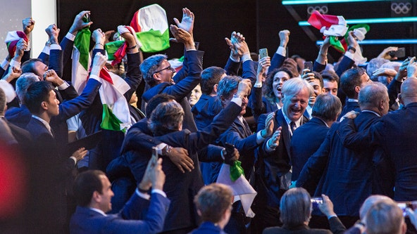 Italy wins bid for 2026 Winter Olympics