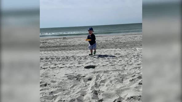 Toddler nearly impaled by flying umbrella at North Myrtle Beach