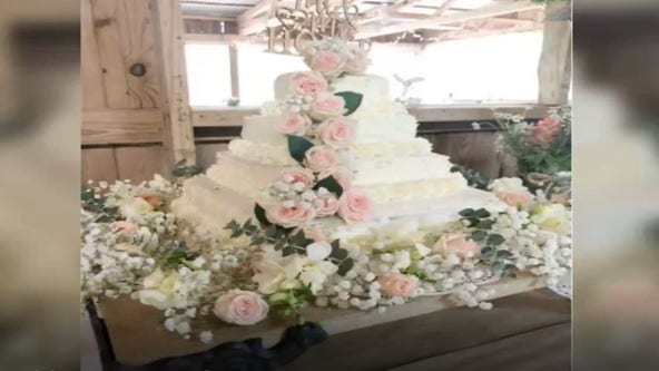 'Beautiful on a budget': DIY wedding cake sourced from Costco, Trader Joe's only cost $50
