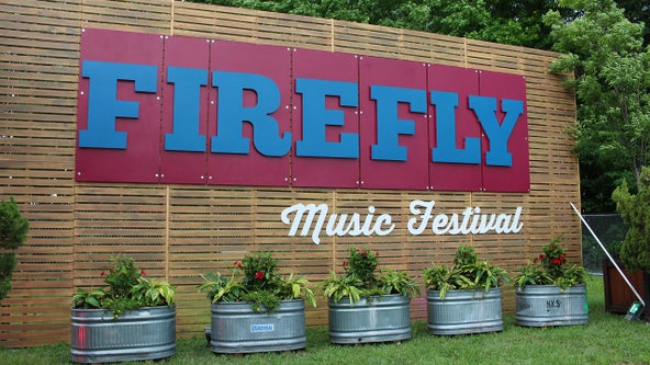 Man at Firefly Festival gets naked, knocks over equipment