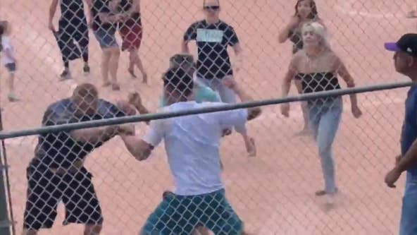 Parents brawl at youth baseball game after call by 13-year-old umpire