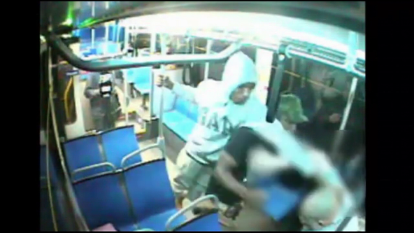 Caught on Camera: Man attacked on SEPTA bus in North Philadelphia