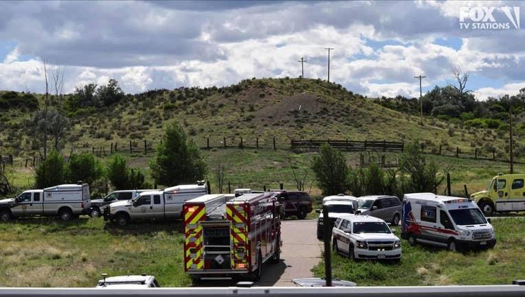 2 dead in charter bus crash in southern Colorado.