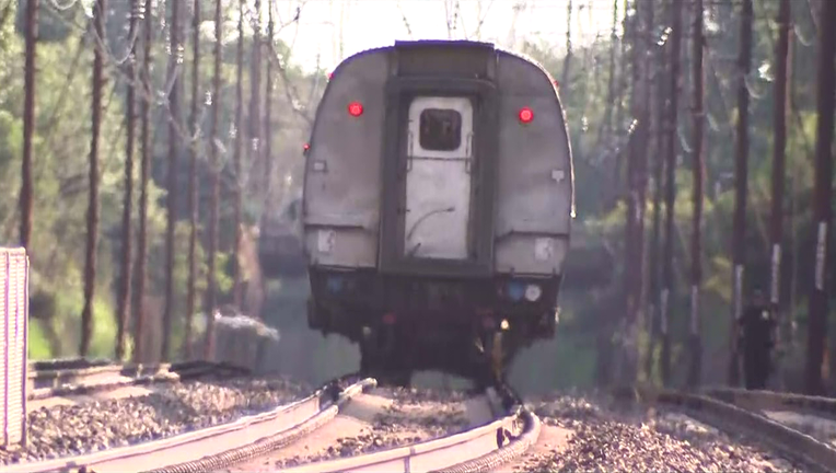 Person struck and killed by Amtrak train in Delaware County.