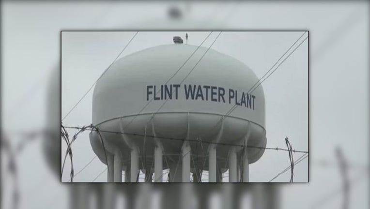Flint, Michigan water tower