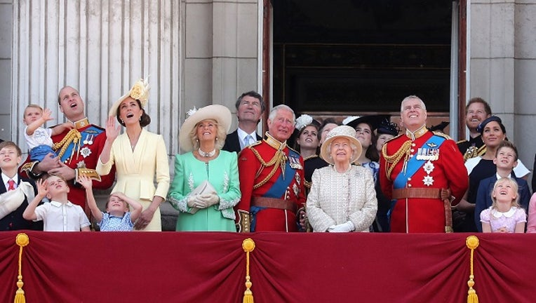 Trooping The Colour, the Queen's annual birthday parade, on June 8, 2019 in London, England. (Photo by Chris Jackson/Getty Images)